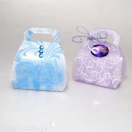 Feuilles créapop Hobbyfun gabarit boite cadeau mini sac