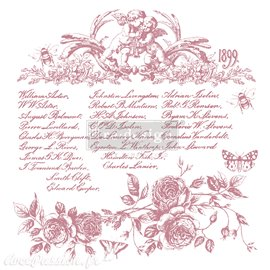 Tampons Redesign Clear Stamps FLORAL SCRIPT