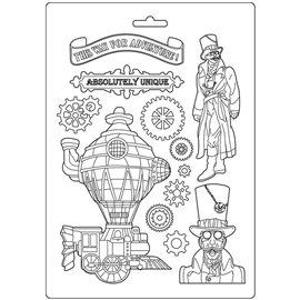Moule décoratif thermoformé Stamperia