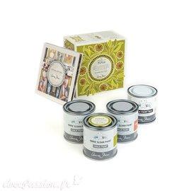 Peinture Annie Sloan kit 3 pots 120ml Firle