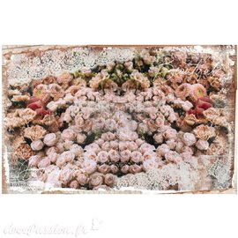 Papier de murier mulberry imprimé Redesign 48x76cm Beautiful Dream