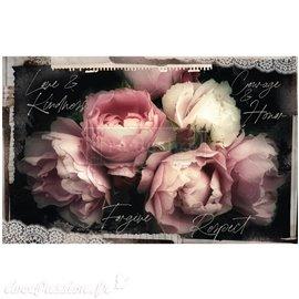 Papier de murier mulberry imprimé Redesign 48x76cm Zara