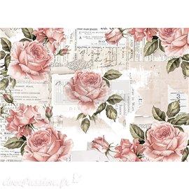 Papier de riz Redesign 41x29cm Floral Sweetness