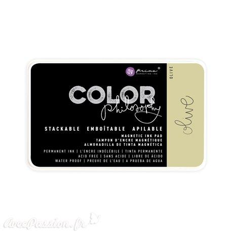 Tampon encreur Color Philosophy olive