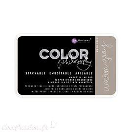 Encre permanente pour tampon Color Philosophy warm gray