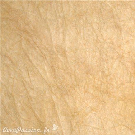 Papier fantaisie cristal beige