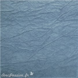 Papier fantaisie cristal bleu moyen