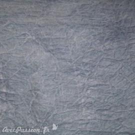 Papier fantaisie cristal gris du gabon