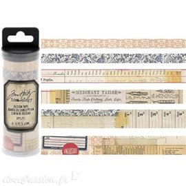 Masking tape Tim Holtz Marchand 6 rouleaux 5.49m idea-ology