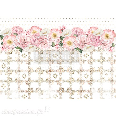 Papier de riz Redesign 41x29cm Tranquil Bloom