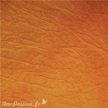 papier-cristal-orange-c10-papier-fantaise-cartonnage-papier-meuble-en-carton