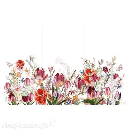 Transfert pelliculable Hokus Pokus Décalcomanie Tulip Fields
