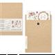 Transfert pelliculable Amatxi Fleurs Aquarelle 38x47