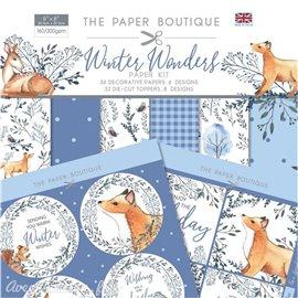 Papier scrapbooking Paper Boutique Winter wonders Paper kit