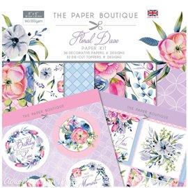 Papier scrapbooking Paper Boutique Floral daze paper kit