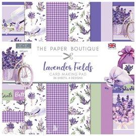 Papier scrapbooking Paper Boutique Lavender fields 30x30 Card making pad