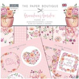 Papier scrapbooking Paper Boutique Grandma's garden paper kit