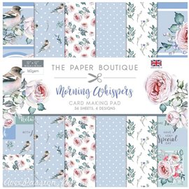 Papier scrapbooking Paper Boutique Morning whispers 30x30cm