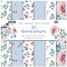Papier scrapbooking Paper Boutique Morning whispers 15x15cm