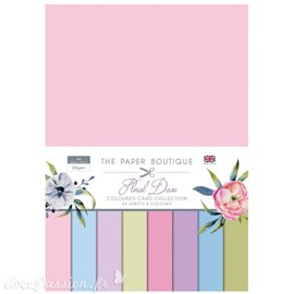 Papier scrapbooking Paper Boutique Floral daze colour