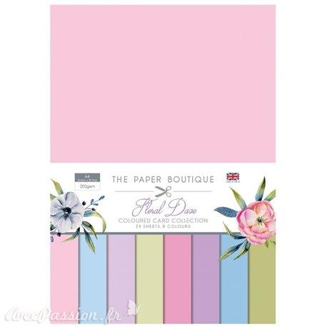 Papier scrapbooking Paper Boutique Floral daze colour