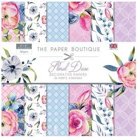 Papier scrapbooking Paper Boutique Floral daze 20x20cm paper