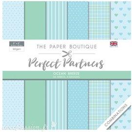Papier scrapbooking Paper Boutique Perfect partners paper pad Ocean breeze