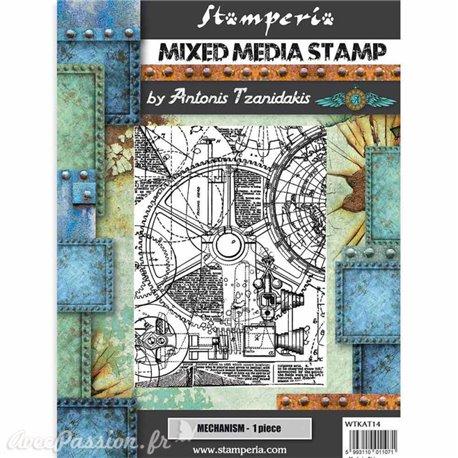 Tampon caoutchouc Stamperia 15x20cm
