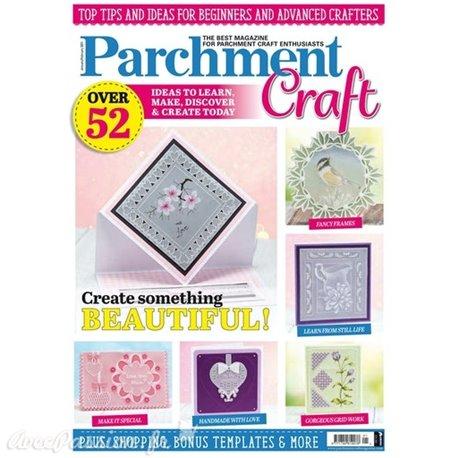 Parchment Craft magazine Pergamano janvier février 2021