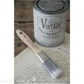 """Pinceau plat poils synthétiques pour peinture Vintage Paint  1 """""""
