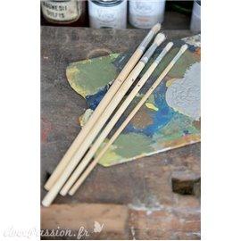 Pinceau Annie Sloan set de 4 pinceaux de détails