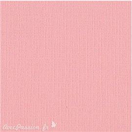 Papier scrapbooking Bazzill Canvas 30x30cm 1fe uni Blossom