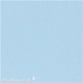 Papier scrapbooking Bazzill Canvas 30x30cm 1fe uni Starmist
