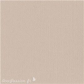 Papier scrapbooking Bazzill Canvas 30x30cm 1fe uni Twig