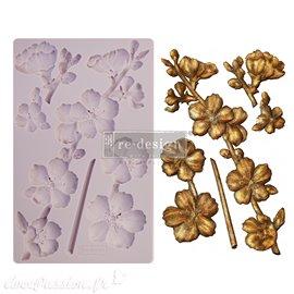 Moule ReDesign en silicone flexible Botanical Blossoms