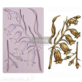 Moule ReDesign en silicone flexible Sweet Bellflower