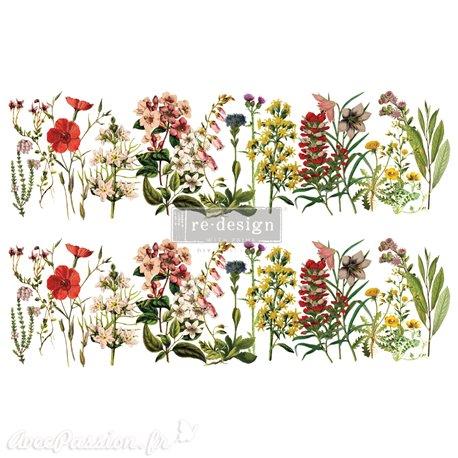 Transfert pelliculable Redesign The Flower Fields 61x89cm