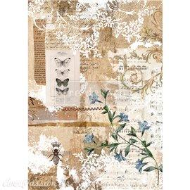Papier de riz Redesign 41x29cm Botanical sonata