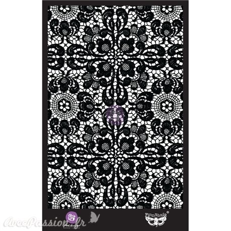 Pochoir décoratif Finnabair ornate lace 6x9