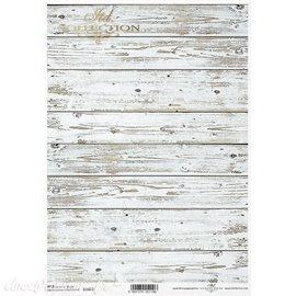 Papier de riz placnche de bois A4