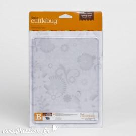 Plaque de coupe B Cuttlebug qu2