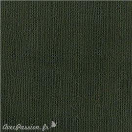 Papier scrapbooking Bazzill Canvas 30x30cm 1fe uni Cinder