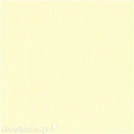 Papier scrapbooking Bazzill Canvas 30x30cm 1fe uni Butter Cream