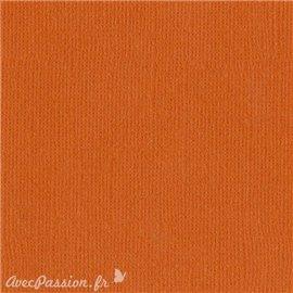 Papier scrapbooking Bazzill Canvas 30x30cm 1fe uni Bazzill Orange