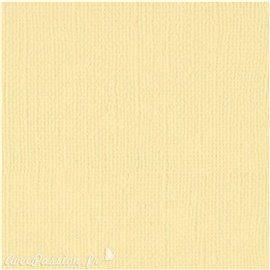 Papier scrapbooking Bazzill Canvas 30x30cm 1fe uni Chiffon