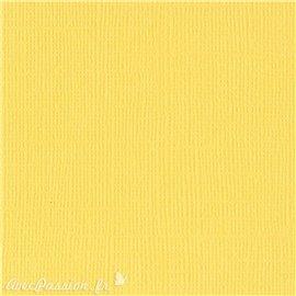 Papier scrapbooking Bazzill Canvas 30x30cm 1fe uni Sunbeam
