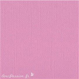 Papier scrapbooking Bazzill Canvas 30x30cm 1fe uni Petunia