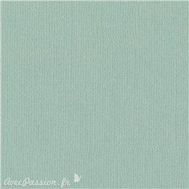 Papier scrapbooking Bazzill Canvas 30x30cm 1fe uni Aqua