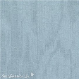 Papier scrapbooking Bazzill Canvas 30x30cm 1fe uni Coastal