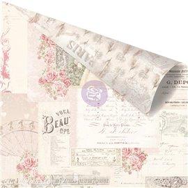 Papier scrapbooking Prima Love Story memories left in notes